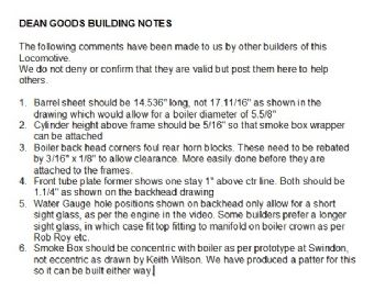 Building Notes